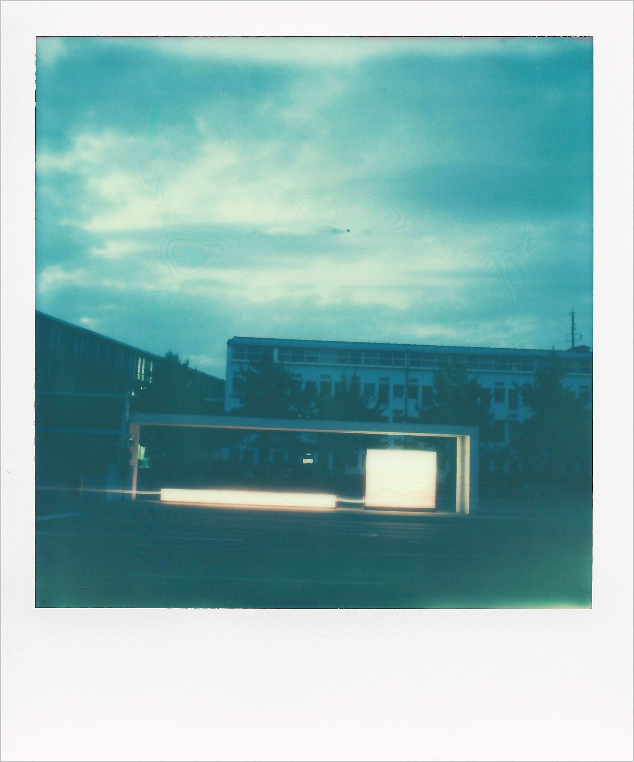 Das geht schief | Polaroid Art